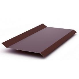 Віконний відлив металевий оцинкований 0,45 мм 2 м