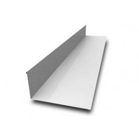 Планка примыкания металлическая оцинкованная 0,45 мм 2 м