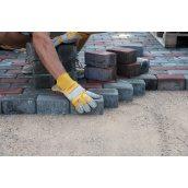 Укладання бетонної тротуарної плитки