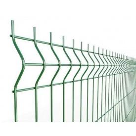Секція огорожі 3D 2500х1730 мм 4х4 мм зелена