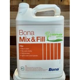 Шпаклевка для паркета Bona Mix Fill на акриловой основе 5 л