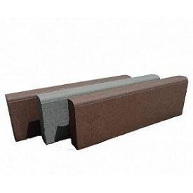 Бордюр тротуарный бетонный сухопрессованный односкатный 50х20х6 см