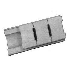Желоб водоотводный бетонный вибролитой скрытый 40х18х10 см