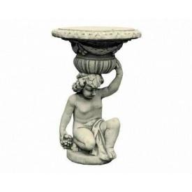 Садова Скульптура Континент Хлопчик з вазою бетонна