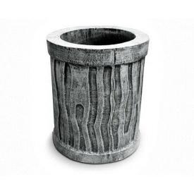 Вулична урна для сміття Континент Дуб бетонна