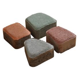 Тротуарна плитка Римський камінь бетонна сухопресована 6 см