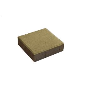 Тротуарна плитка Квадрат бетонна сухопресована 20х20х6 см