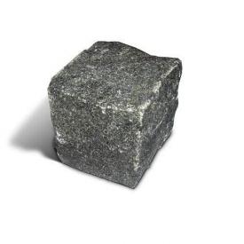 Брусчатка гранитная колотая 5х10х10 см (Габро)