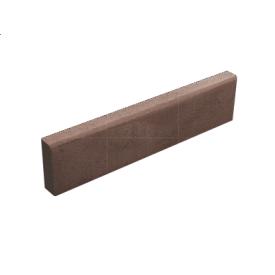 Бордюр тротуарный бетонный сухопрессованный 100х20х6 см