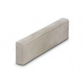 Бордюр тротуарный бетонный сухопрессованный 50х20х6 см