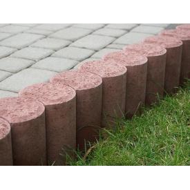 Столбик садовый Ринг бетонный сухопрессованный 11х25 см