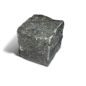 Брусчатка гранитная колотая 5х5х5 см (Габро)