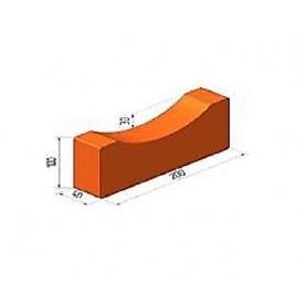 Водовідвідний жолоб малий БрукКерам клінкер 20х10х4 см