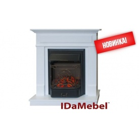 Каминокомплект Michelle IDaMebel Royal FLame Majestic FX Black 2000 Вт 900x910x310 мм
