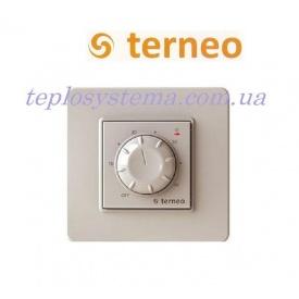Терморегулятор Terneo rol для обогревателей слоновая кость