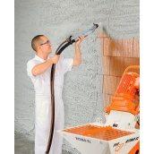 Оздоблення стін цементно-вапняною штукатуркою машинного нанесення