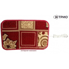 Инфракрасный согревающий коврик в ковролине ТРИО 30 Вт