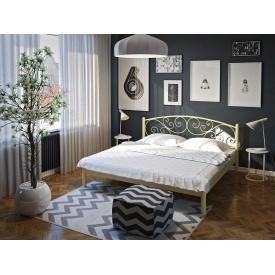 Двуспальная кровать Лилия Тенеро 1600х2000 мм светлая