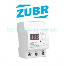 Реле напруги ZUBR D25t c термозахистом DS Electronics