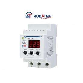 Реле контроля напряжения РН-125 25 А Volt Control Новатек-Электро