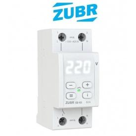 Реле контроля напряжения ZUBR D2 63 с термозащитой DS Electronics