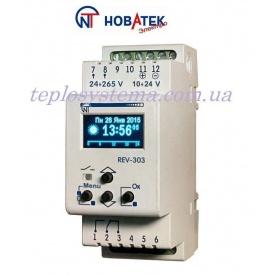 Программируемый многофункциональный таймер REV 303 суточно-недельный Новатек-Электро