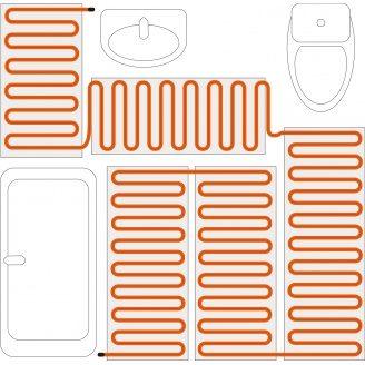 Нагрівальний кабель 20 Вт/м