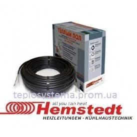 Одножильный нагревательный кабель Hemstedt BR-IM –Z 122,4 м 2100 Вт