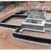 Строительство фундамента объекта