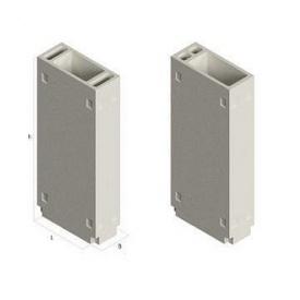 Вентиляционный блок ВБС 30 630х300х2980 мм