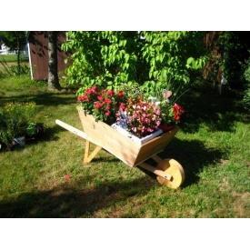Тележка-клумба для растений и цветов под заказ