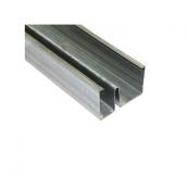 Звукоізоляційний MW-профіль для гіпсокартону Knauf 75х50х0,6 мм