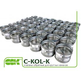 Обратный клапан для вентиляции C-KOL-K-100