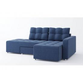 Кутовий диван Фієста Софина 2400х1600х900 мм синій