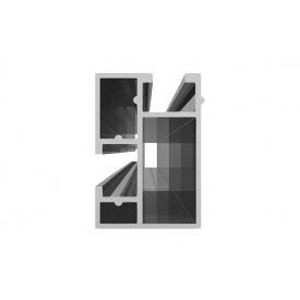 Профиль алюміній для установок на кришці для сонячних панелей