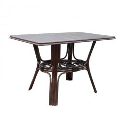 Обеденный стол ЧФЛИ Барселона-мдф 1200х700х730 мм из ротанга