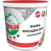 Фасадная акриловая краска Anserglob Фасад Эко+ 10 л