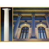 Фасадная колонна Sangallo с канеллюрами 250 мм