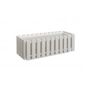 Вазон FENCY 50х18,5х17 см білий (32817)