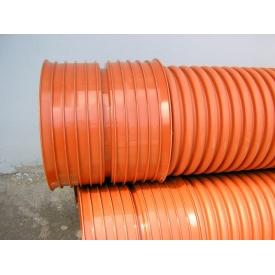 Труба канализационная гофрированная 200/175х6 мм
