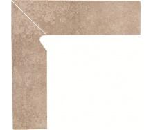 Клінкерна цоколь Paradyz Viano beige lewy 8,1x30 см
