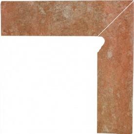 Клинкерный цоколь Paradyz Ilario ochra prawy 8,1x30 см