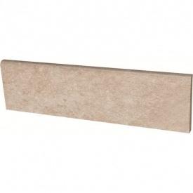 Клинкерный цоколь Paradyz Viano beige 8,1x30 см