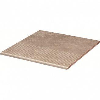 Клінкерний східець Paradyz Viano beige stopnica prosta struktura 30x30 см
