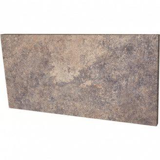 Клінкерна підсходинки Paradyz Viano grys struktura 14,8x30 см