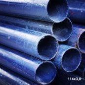 Труба кругла сталь 1-3пс 114х3,0 мм 12 м