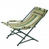 Крісло Гойдалка 20 мм текстилен зелена смуга Вітан