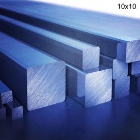 Квадрат стальной 10х10 мм 6 м