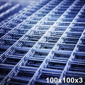 Сетка арматурная 3х100х100 мм 0,5х2 м