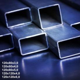 Труба профільна сталь 1-3пс 120х60х4 мм 12 м